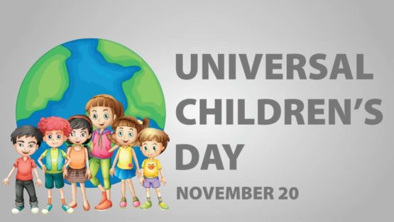 PRESS RELEASE ON THE UNIVERSAL CHILDREN'S DAY