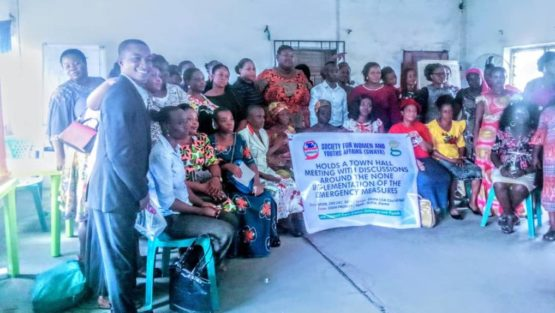 ELEME WOMEN TOWNHALL MEETING ON THE IMPLEMENTATION OF EMERGENCY MEASURES RECOMMENDED BY UNEP, 2ND DECEMBER, 2019.
