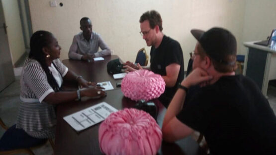 SOCIETY FOR WOMEN AND YOUTHS AFFAIRS GRANTS INTERVIEW WITH FOREIGN JOURNALISTS AND RESEARCHERS